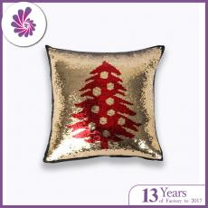 Christmas Tree Mermaid Sequin Cushion Covers