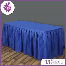 Pleat Polyester Table Skirts