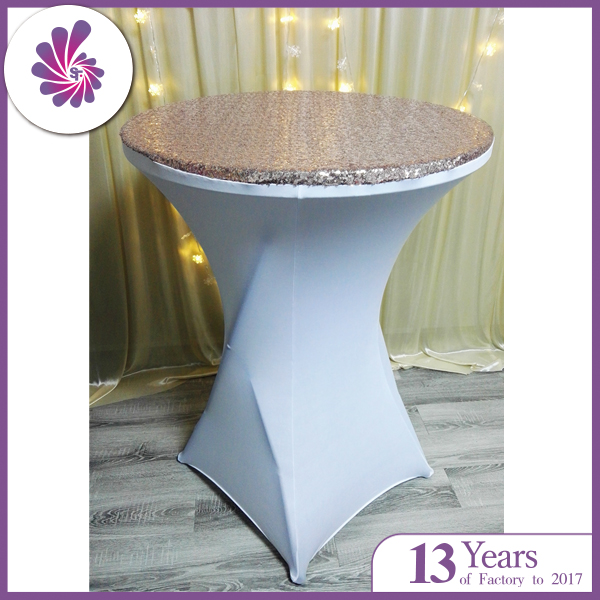 Wedding Glitter Sequins Bar Table Covers