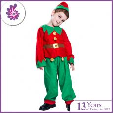 Santa Claus Helper Green Holiday Elf Christmas Costume Sweet Dress Kids/Adults