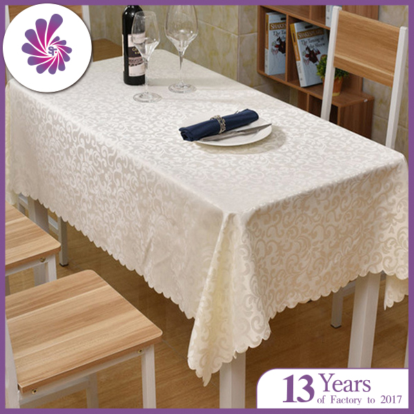 Polyester Jacquard Tablecloth