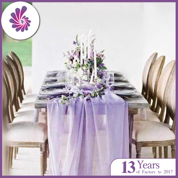 Table Decoration Chiffon Table Runner
