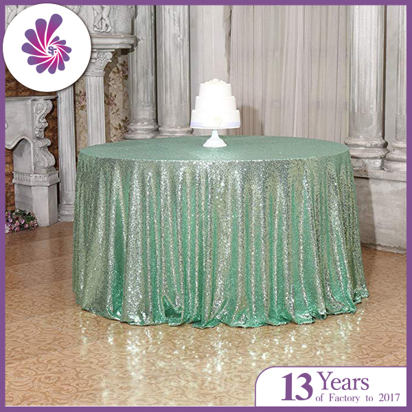 Glitter Sequin Table Cloth for Wedding and Party