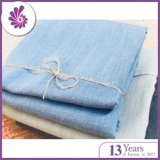 Soft Linen Fabric Material Textile for Home Decor