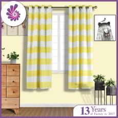 Living Room Curtain with Printing Designs