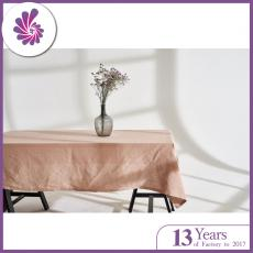 Linen tablecloth in various color